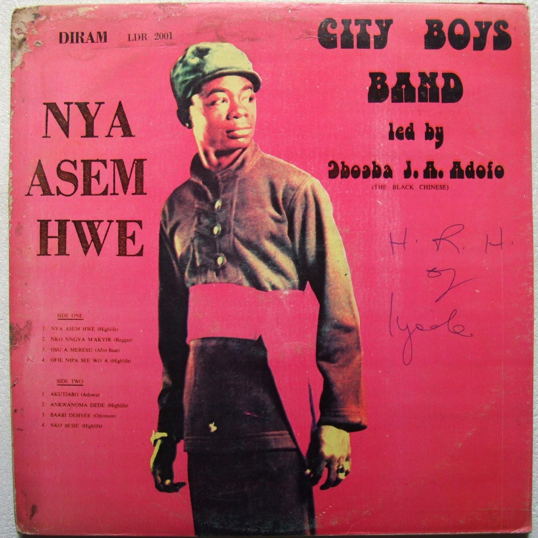 CITY BOYS nya asem hwe AFRO FUNK DEEP HIGHLIFE GHANA mp3 listen