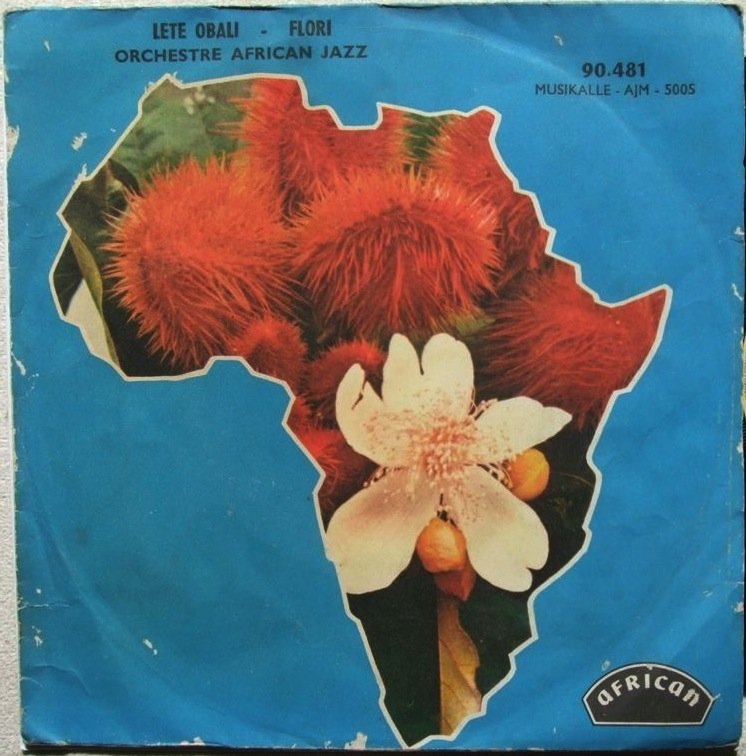 "ORCHESTRE AFRICAN JAZZ lete obali 7"" SWEET DREAMY HYPNOTIC RUMBA BEAUTY � listen"
