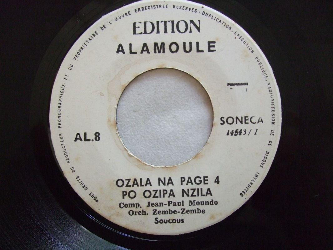 """ORCH ZEMBE ZEMBE ozala na page RARE RUMBA CONGO 7"""" � mp3 listen"""