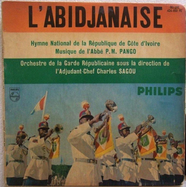 ORCH DE LA GARDE REPUBLICAINE DE COTE D'IVOIRE l'abidjanaise EP MILITARY MUSIC � listen
