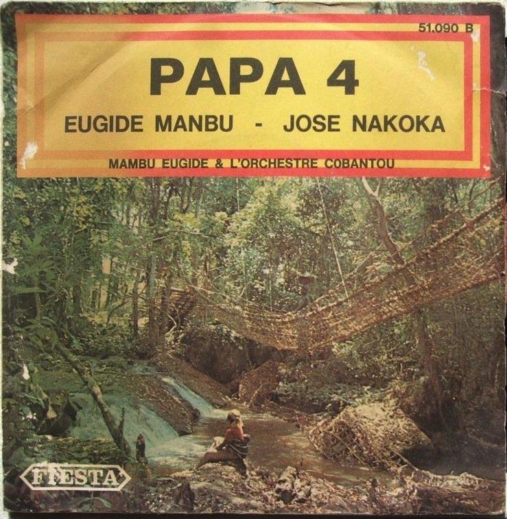 """ORCH COBANTOU eugide mambu 7"""" HOT RUMBA FIESTA � mp3 listen"""