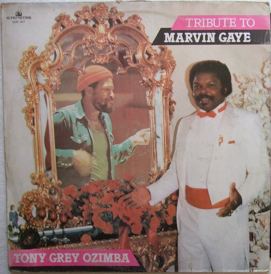 TONY GREY OZIMBA tribute to marvin gaye AFRO ELECTRO MODERN SOUL LP � mp3 listen