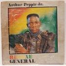 ARTHUR PEPPLE JUNIOR reggae general AFRO REGGAE ELECTRO SYNTH NIGERIA LP