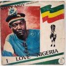 NATTY ANDY i love nigeria AFRO DIGITAL REGGAE NIGERIA LP