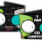 """Invader Zim - Zim & GIR """"I Am So Confused"""" Bi-Fold Wallet"""