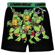Teenage Mutant Ninja Turtles Seatbelt Belt - Donnie, Raph, Mikey, Leo Neon Heads