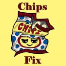 Potato Chips Fix Everything Food Humor - Rectangle Refrigerator Magnet