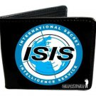 Archer - ISIS International Secret Intelligence Service Logo Black BiFold Wallet