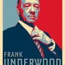 Frank Underwood For President TV Politics Parody - Rectangle Refrigerator Magnet