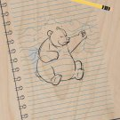 """""""Sketching Escape"""" Bear Drawing Punch Paper - Plywood Wood Print Poster Wall Art"""
