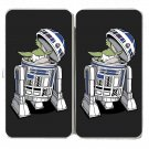 """The Man Behind"" Fun Space Movie Robot Parody - Womens Taiga Hinge Wallet Clutch"