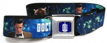 Dr. Who BBC Seatbelt Belt - Dr. Who, Amy Pond, The Daleks, The Doctor