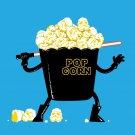 """Pop Corn Kingdom"" Space Movie Parody Empire Popcorn Bowl Sword - Vinyl Sticker"