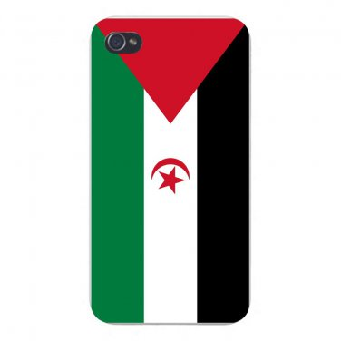 Western Sahara World Country Flag - FITS iPhone 5 5s Plastic Snap On Case