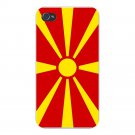 Macedonia World Country National Flag - FITS iPhone 5 5s Plastic Snap On Case