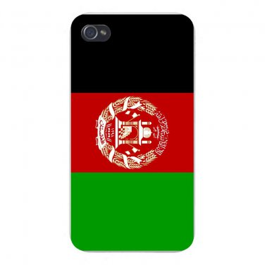 Afghanistan World Country National Flag - FITS iPhone 5 5s Plastic Snap On Case