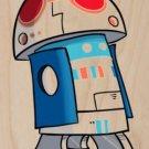 Plumbing Wars Beeping Robot Movie Parody - Plywood Wood Print Poster Wall Art
