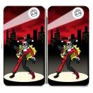 Female Jester Girl Game & Super Hero Parody - Womens Taiga Hinge Wallet Clutch