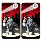 Disfigured Face Guy Game & Super Hero Parody - Womens Taiga Hinge Wallet Clutch