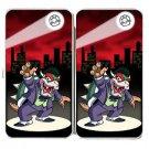 Clown Criminal Game & Super Hero Parody - Womens Taiga Hinge Wallet Clutch