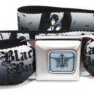 Black Butler Seatbelt Belt - Main Characters Artwork Anime Logo