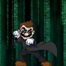 Plumbtrix Main Hero Shades Game & Movie Parody - Rectangle Refrigerator Magnet