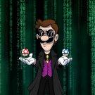 Plumbtrix Long Coat Hero Game & Movie Parody - Rectangle Refrigerator Magnet