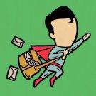 """Part-Time Job Post"" Mail Comic Parody - Plywood Wood Print Poster Wall Art"