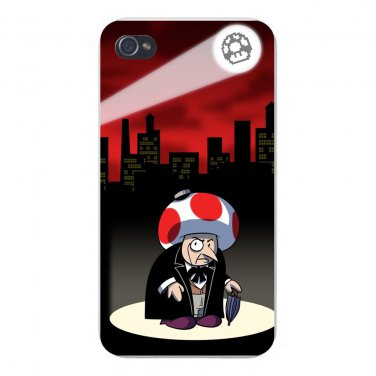 Short Mobster Game & Super Hero Parody - FITS iPhone 4 4s Plastic Snap On Case