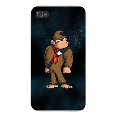 Plumbing Wars Hairy Bear Animal Parody - FITS iPhone 4 4s Plastic Snap On Case
