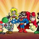 Plumbers League of America Group Game & Super Hero Parody - Vinyl Print Poster