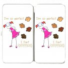 """I'm So Perfect, I Fart Muffins"" Funny Humor - Womens Taiga Hinge Wallet Clutch"