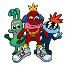 Fresh Homies Funny Cartoon Gang Humor - Vinyl Sticker