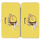"""Buzzin"" Funny Bumblebee Bee Drinking Coffee - Womens Taiga Hinge Wallet Clutch"