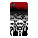 Dead Suits Skeleton March Skull Mass - FITS iPhone 4 4s Plastic Snap On Case