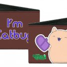 "Bravest Warriors - Cute ""I'm Catbug"" Wearing Oven Mits Smiling Bi-Fold Wallet"