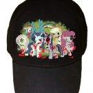 My Little Zombies Parody Zombie Dead TV Show Logo - Black Adjustable Cap Hat