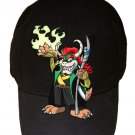 "Game Parody ""The Plungers"" Comic Hero Character 5 - Black Adjustable Cap Hat"