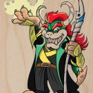 """Parody """"The Plungers"""" Comic Character 5 - Plywood Wood Print Poster Wall Art"""