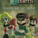 """Game Parody """"Breaking Toilets"""" TV Show - Plywood Wood Print Poster Wall Art"""