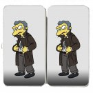 Cartoon Political TV Show Parody Character 4 - Womens Taiga Hinge Wallet Clutch