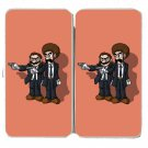 "Video Game Parody ""Toilet Fiction"" Movie - Womens Taiga Hinge Wallet Clutch"