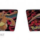 Pokemon Monsters Charizard Fire Flying Red & Black Flame Bi-Fold Wallet