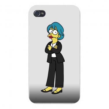 Political Cartoon TV Parody Character 3 - FITS iPhone 4 4s Plastic Snap On Case