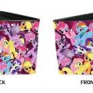 My Little Pony MLP Cartoon Characters Stacked w/ Logo Bi-Fold Wallet