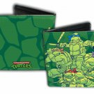 TMNT Teenage Mutant Ninja Turtles Bi-Fold Wallet - Shell Ralph Leo Donnie & Mike