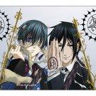 Black Butler Anime Sebastian Michaelis & Ciel Phantomhive Bi-Fold Wallet