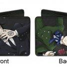 Black Butler Anime Sebastian Michaelis & Vincent Phantomhive Bi-Fold Wallet