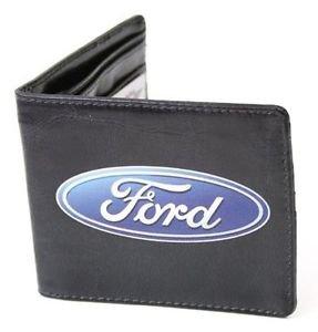 Ford Oval Logo Centered Design Bi-fold Wallet
