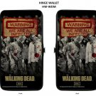 The Walking Dead Zombies Warning We Are All Infected Lady Bi-Fold Hinge Wallet